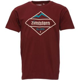 Zimtstern TSM Moutz T-Shirt Men Maroon